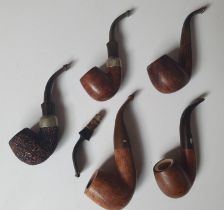 A group of Pipes to include Petersons and Chacom.