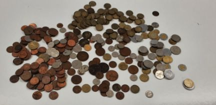 A quantity of Irish and other Coinage.