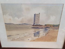 A good quantity of Irish Watercolours by various artists. B Bohan, Ballyheige by Una Walsh, River
