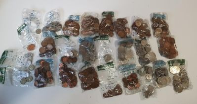 À very large quantity of British Coinage, various dates and denominations.