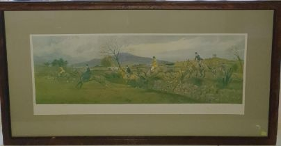 The Tipperary at Tullamaine Gorse by F A Stewart. A Limited Edition coloured Print of 200. Signed by