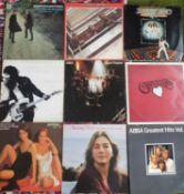 A good quantity of LP's to include Abba, The Beatles, The Carpenters, Bruce Springsteen etc.