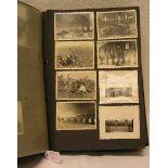 Drittes Reich: Fotoalbum mit ca. 85
