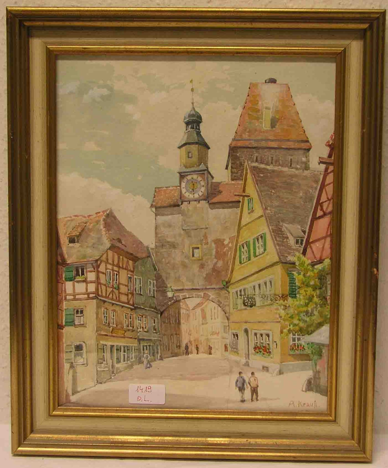 """Krauß, Albrecht: """"Rothenburg ob der"""
