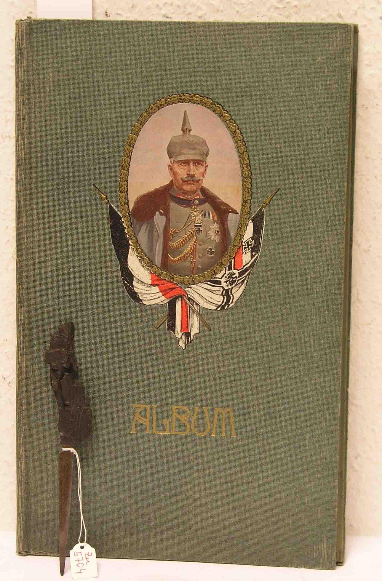 I. Weltkrieg: Postkartenalbum und