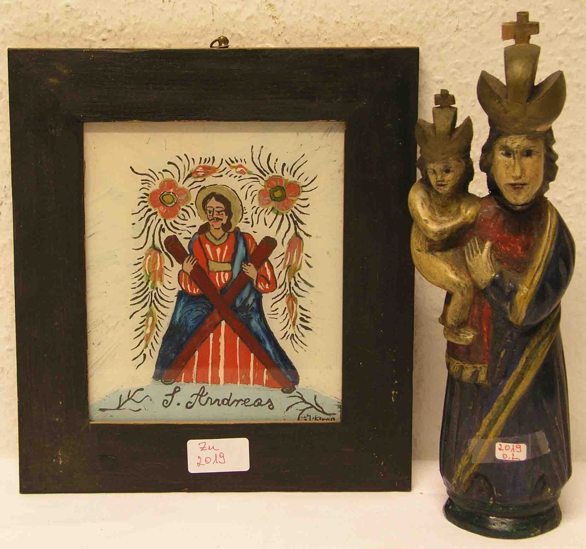 """Madonna mit Christuskind""."