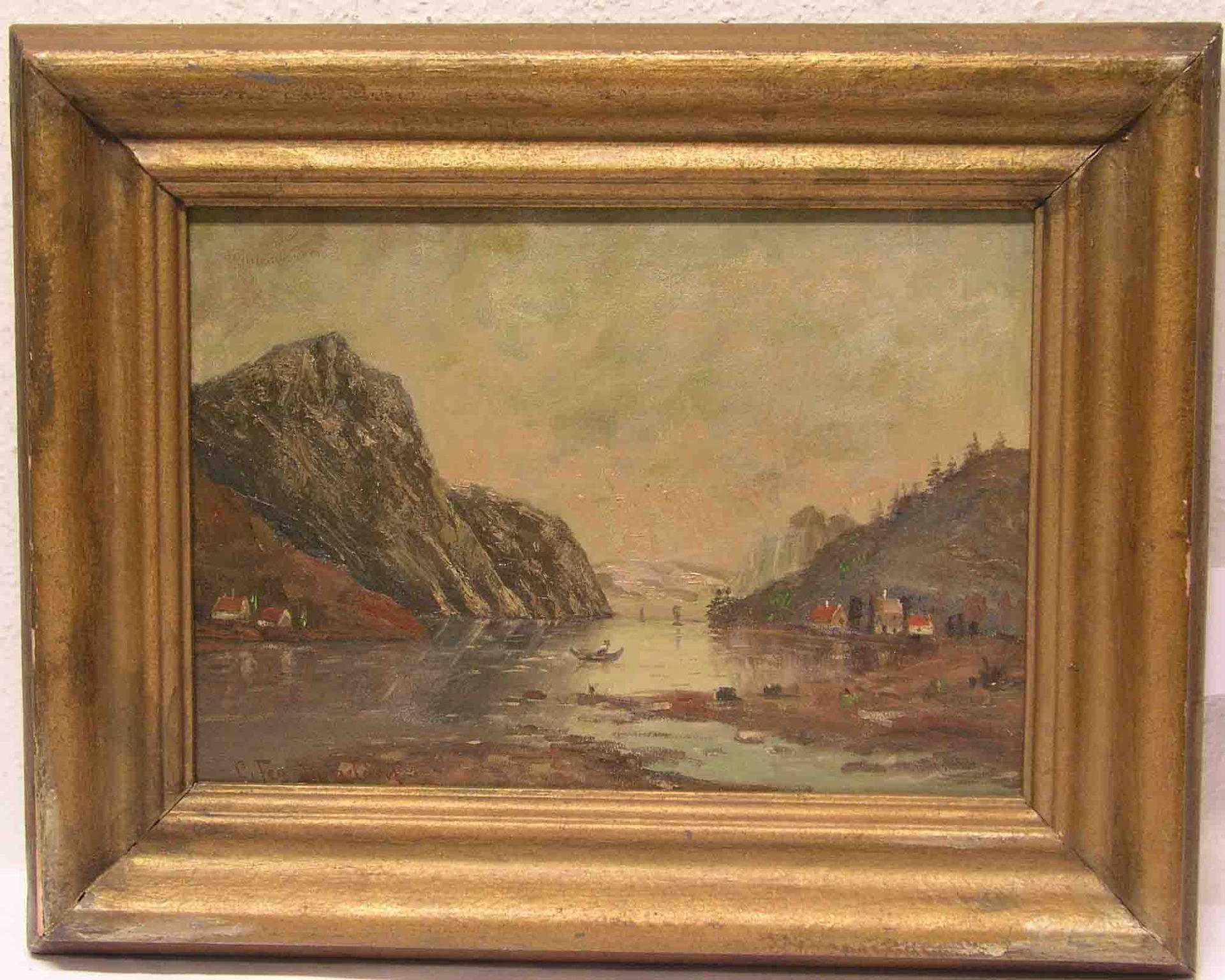 "Fey, Carl (1867 - 1939): ""Bergsee""."