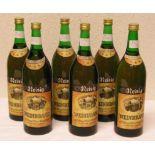 """Alkoholika: Sechs Flaschen """"Weinbrand"""
