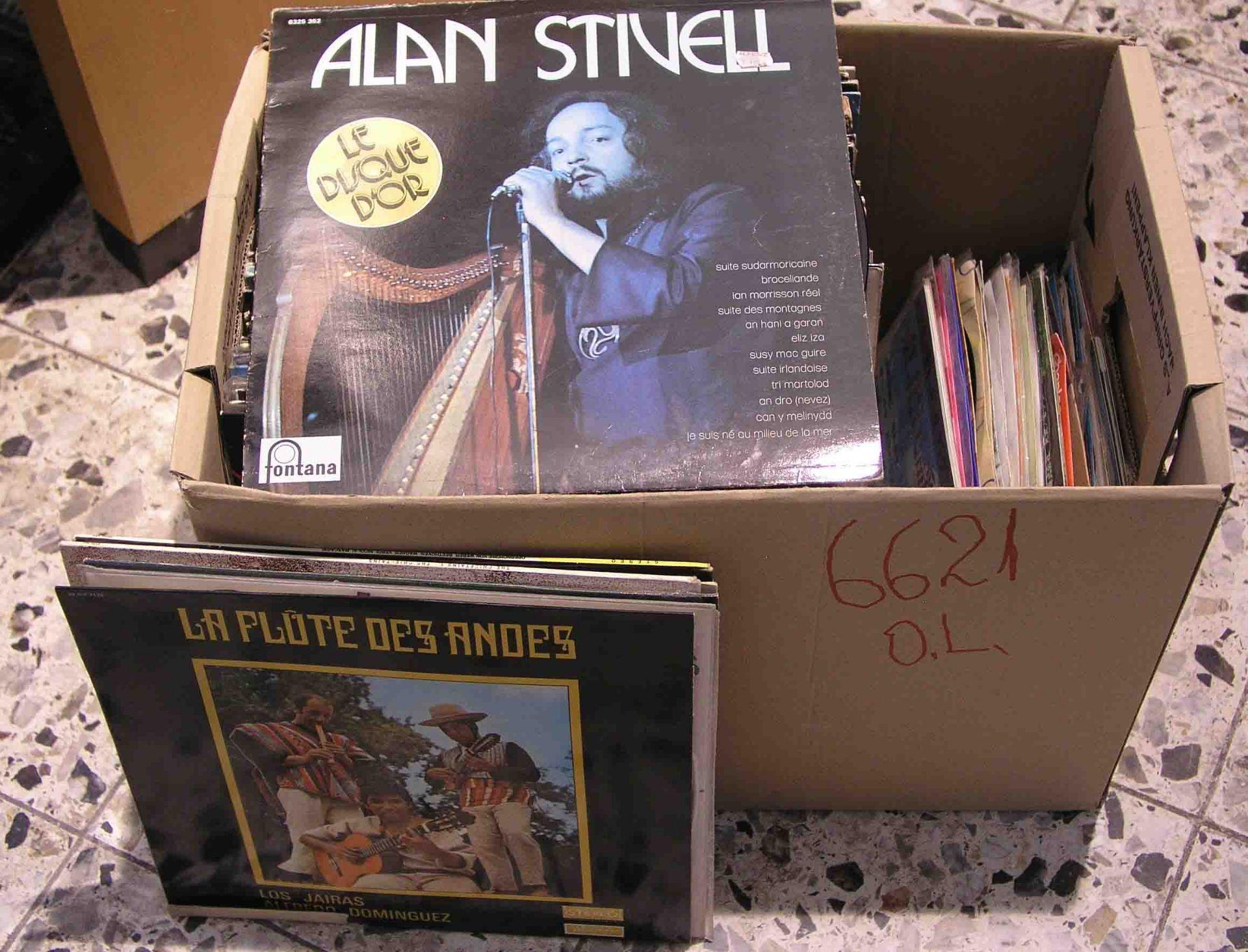 Posten Schallplatten. Ca. 60