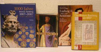 Posten von sechs Büchern. Dabei: