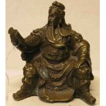 Dragon Guang Gong/Yu mit Buch in der