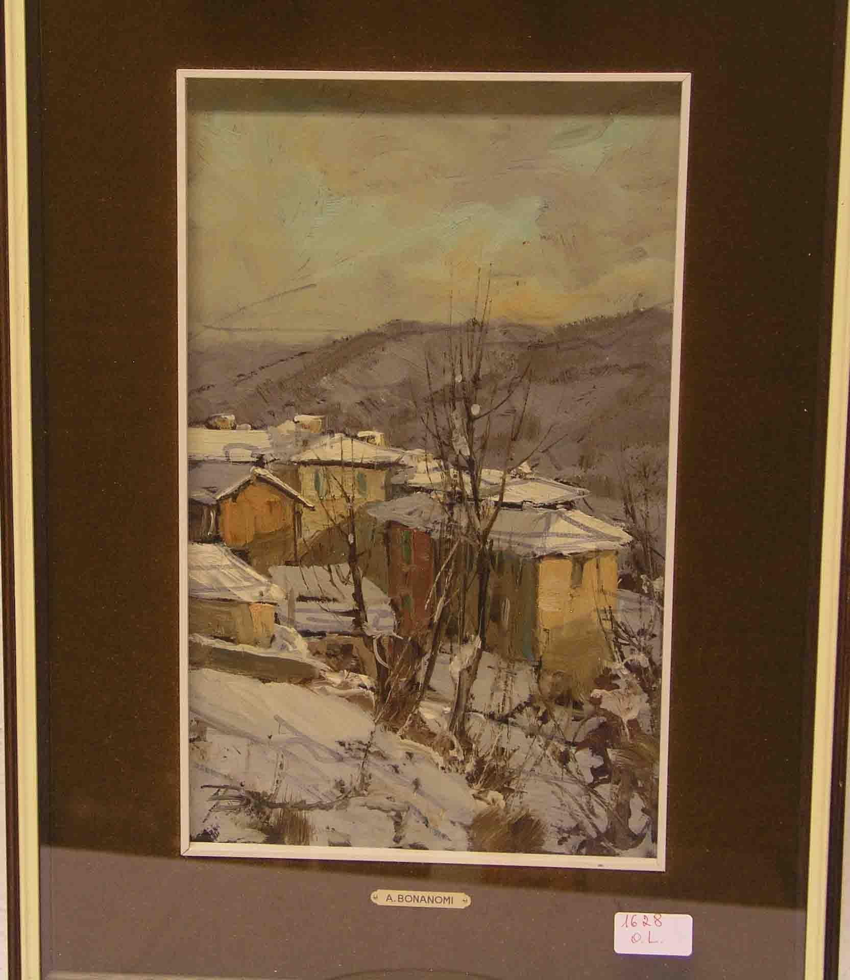 "Bonanomi, Arturo, geb. 1920: ""Bergdorf"
