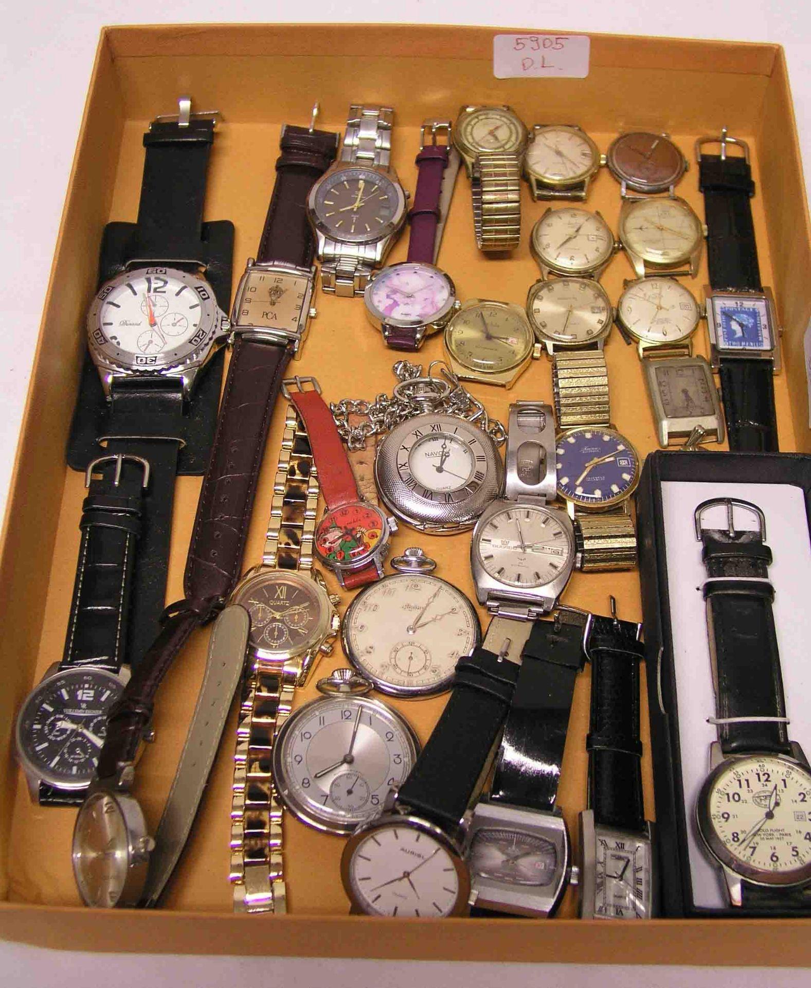 Posten von 22 Armbanduhren. Funktionen