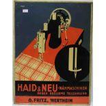 """Haid & Neu - Nähmaschinen gegen"