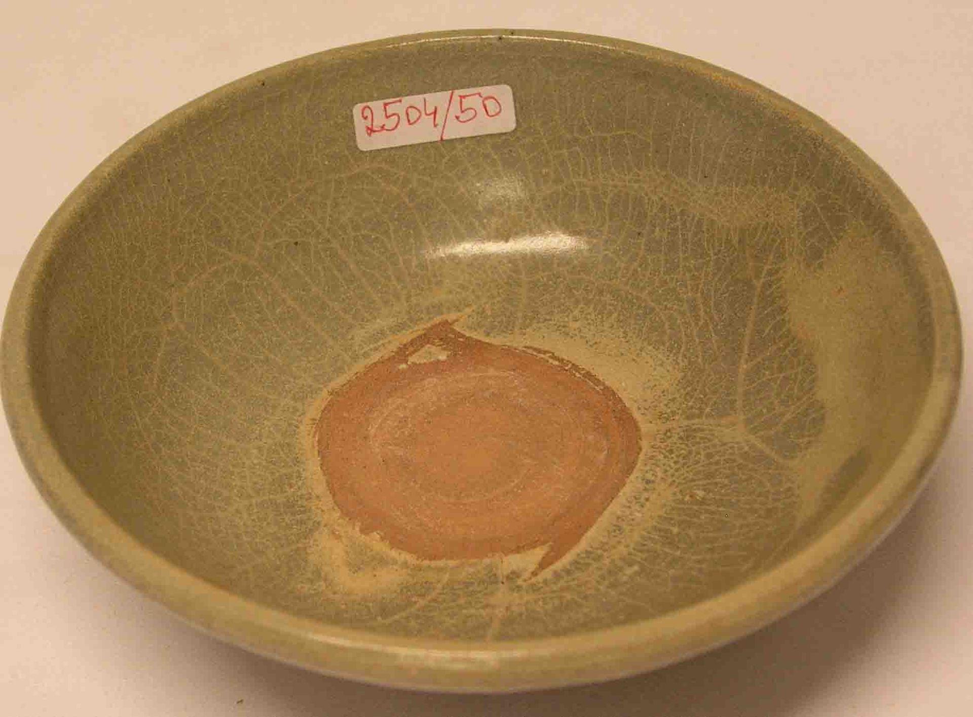Schale, Keramik. China. Wohl Yuan
