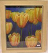 """Tulpen"". Pastell. Unleserlich"