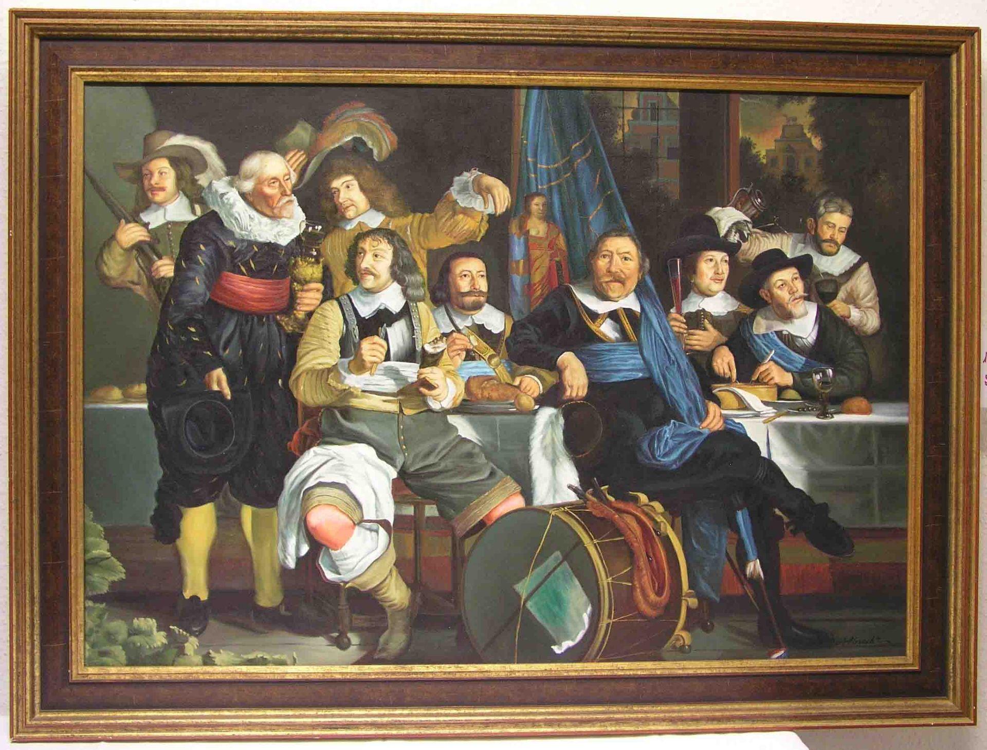 """Albrecht: """"Gastmahl der Schützen""""."""