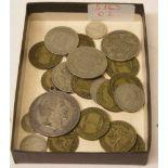 Posten von 20 Münzen. Überwiegend