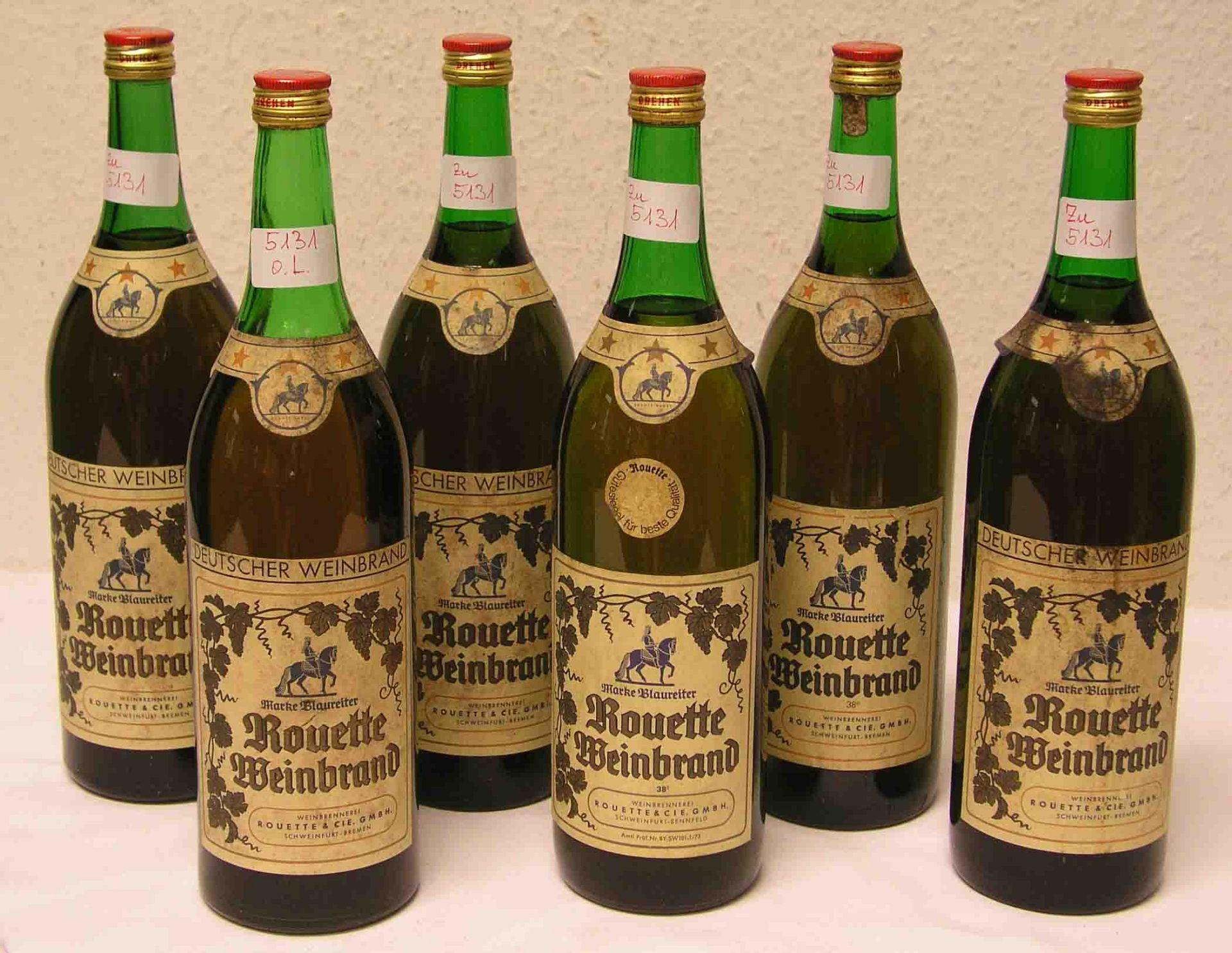 """Alkoholika: Sechs Flaschen """"Rouette"""