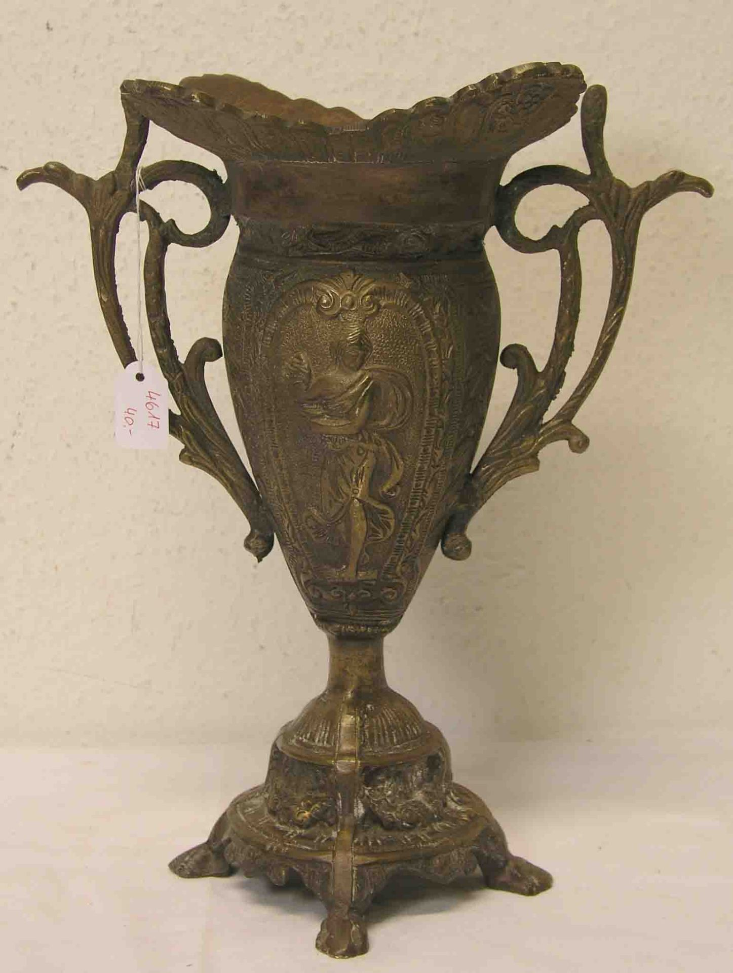 Amphore. Historismus. Messing/Bronze,