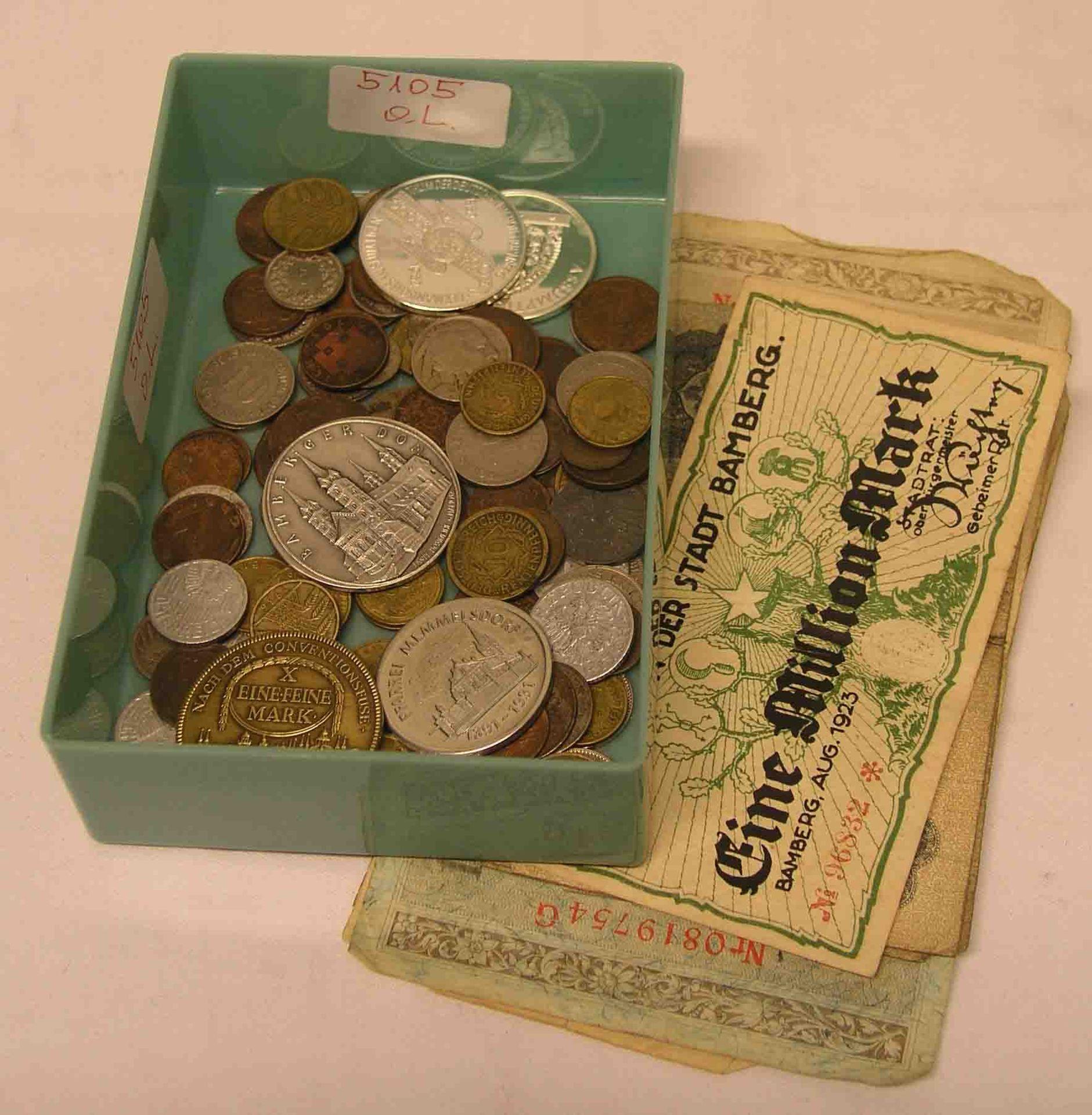 Posten Kleinmünzen, Medaillen und