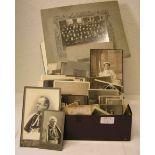 Posten von ca. 160 Fotos um 1900/1920.