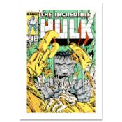 """Marvel Comics, """"The Incredible Hulk #343"""" Numbered Limited Edition Canvas by Tod"""