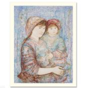 """""""Naomi"""" Limited Edition Serigraph (29"""" x 41"""") by Edna Hibel, Numbered and Hand S"""