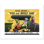 """""""Wild & Wooly Hare"""" Limited Edition Giclee from Warner Bros., Numbered with Holo"""