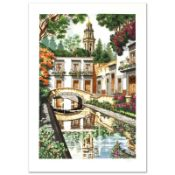 """""""Reflections"""" Limited Edition Serigraph by Juan Medina, Numbered and Hand Signed"""