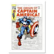 """Marvel Comics, """"Captain America #109"""" Numbered Limited Edition Canvas by Jack Ki"""