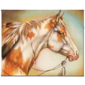 """""""Dreamer Horse"""" Limited Edition Giclee on Canvas by Martin Katon, Numbered and H"""