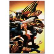 "Marvel Comics ""Uncanny X-Men: First Class #5"" Numbered Limited Edition Giclee on"