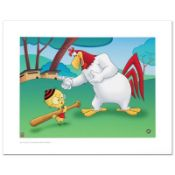 """Let's Play Ball"" Limited Edition Giclee from Warner Bros., Numbered with Hologr"