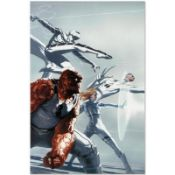 """Marvel Comics """"Fantastic Four #600"""" Numbered Limited Edition Giclee on Canvas by"""