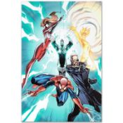 """Marvel Comics """"Ultimate Mystery #1"""" Numbered Limited Edition Giclee on Canvas by"""