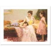 """Pino (1931-2010), """"A Soft Place In My Heart"""" Limited Edition on Canvas, Numbered"""