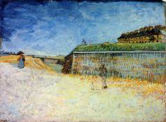 Van Gogh - The Ramparts Of Paris 2