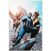 """Marvel Comics """"Avengers #82"""" Numbered Limited Edition Giclee on Canvas by Scott"""