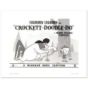 """Crockett Doodle Do"" Limited Edition Giclee from Warner Bros., Numbered with Hol"