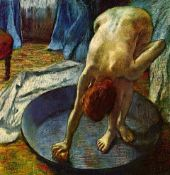 Edgar Degas - The Tub