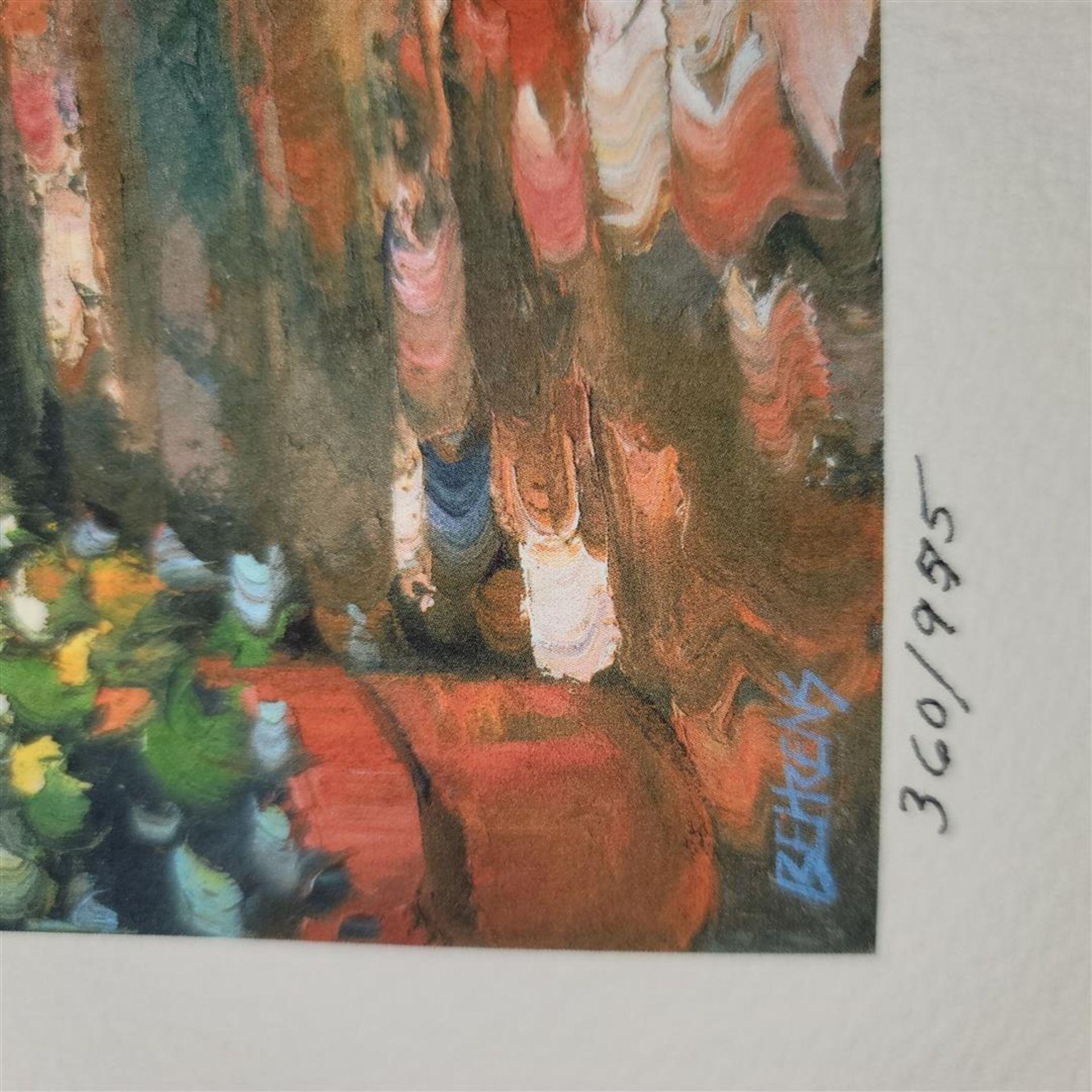 """Sunlit Stroll"" by Howard Behrens - Signed, Numbered, & Embellished - Image 3 of 4"