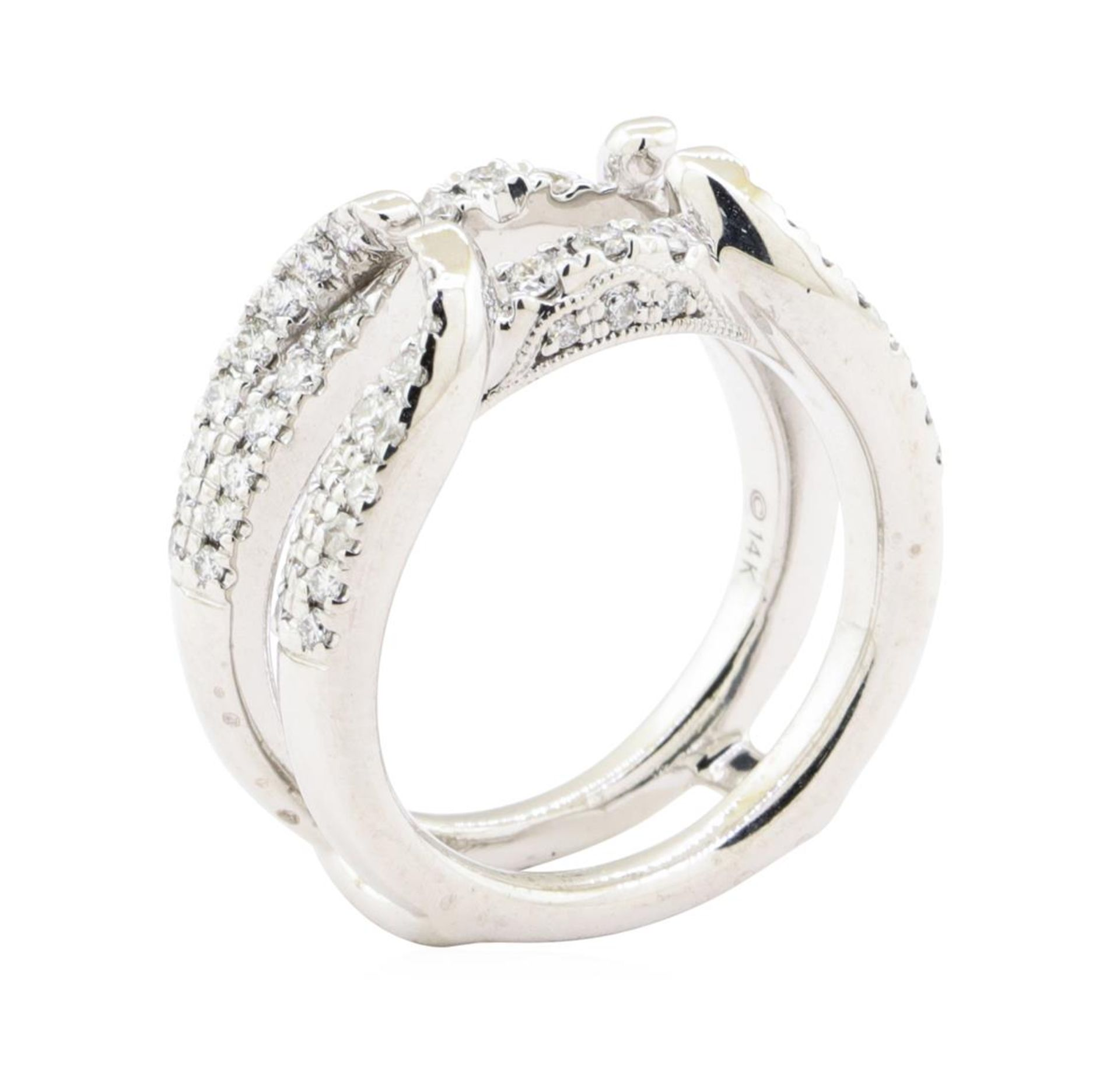 0.70 ctw Diamond Ring Guard - 14KT White Gold - Image 4 of 4