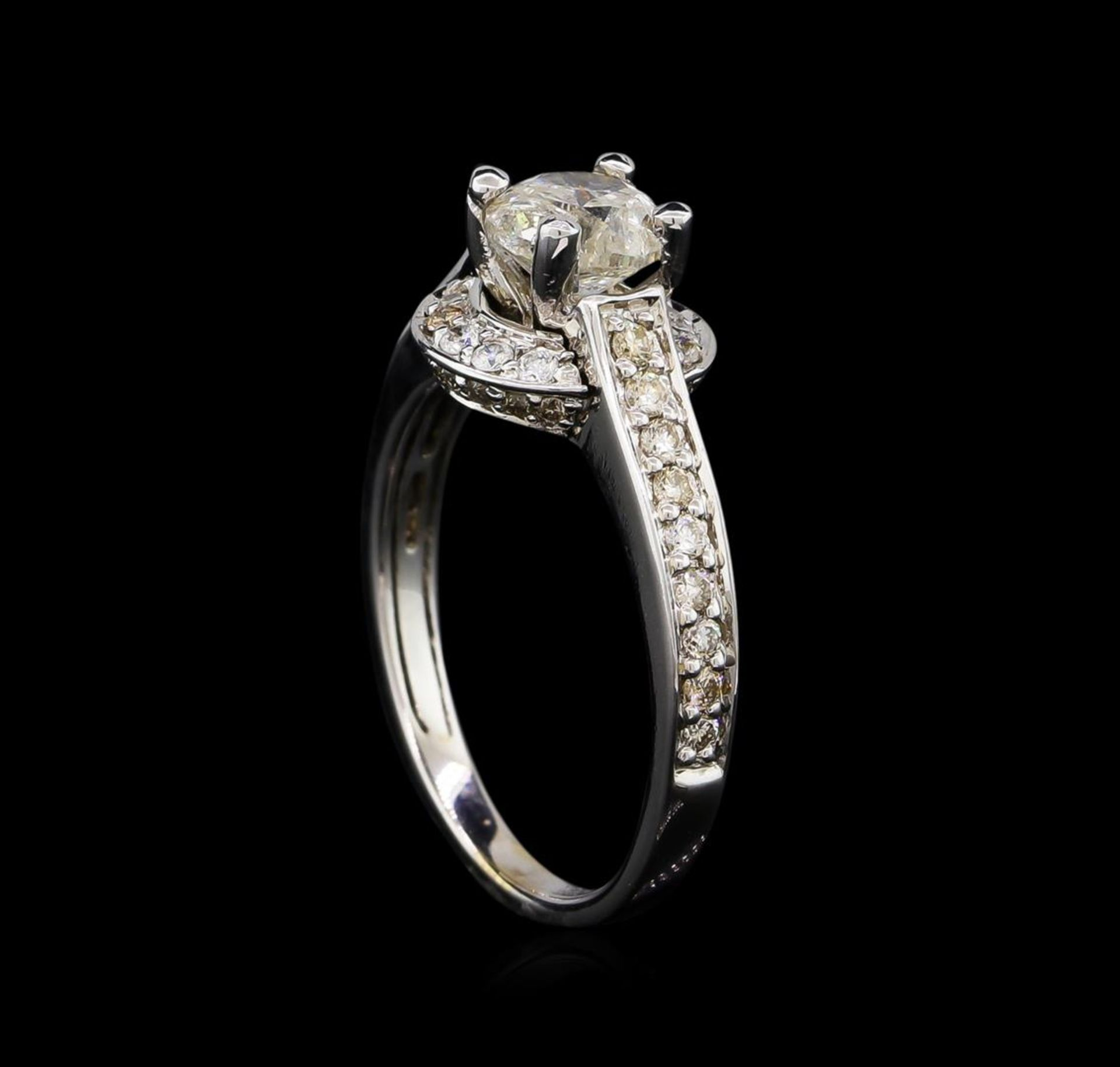 14KT White Gold 1.12 ctw Diamond Ring - Image 4 of 5