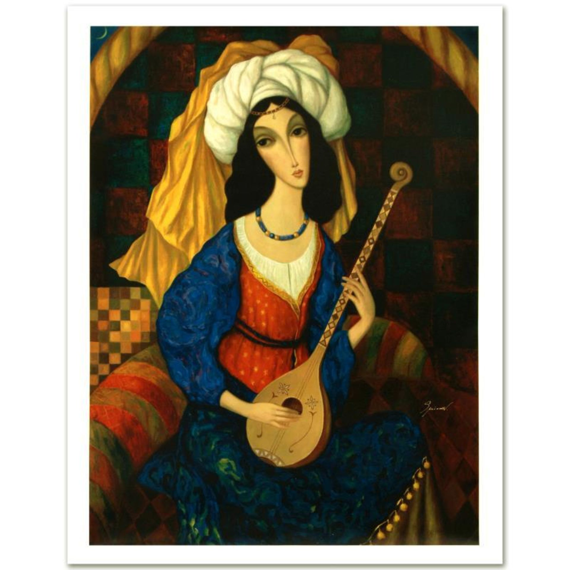"""Sergey Smirnov (1953-2006), """"Scheherazade"""" Limited Edition Mixed Media on Canvas"""
