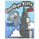 """""""Goodbye Kitty"""" Limited Edition Lithograph (32.5"""" x 42"""") by Todd Goldman, Number"""