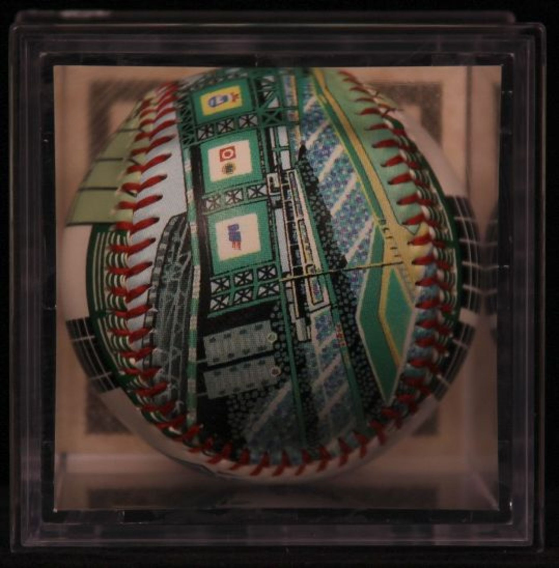 "Unforgettaball! ""Bank One Ballpark"" Collectable Baseball - Image 4 of 6"