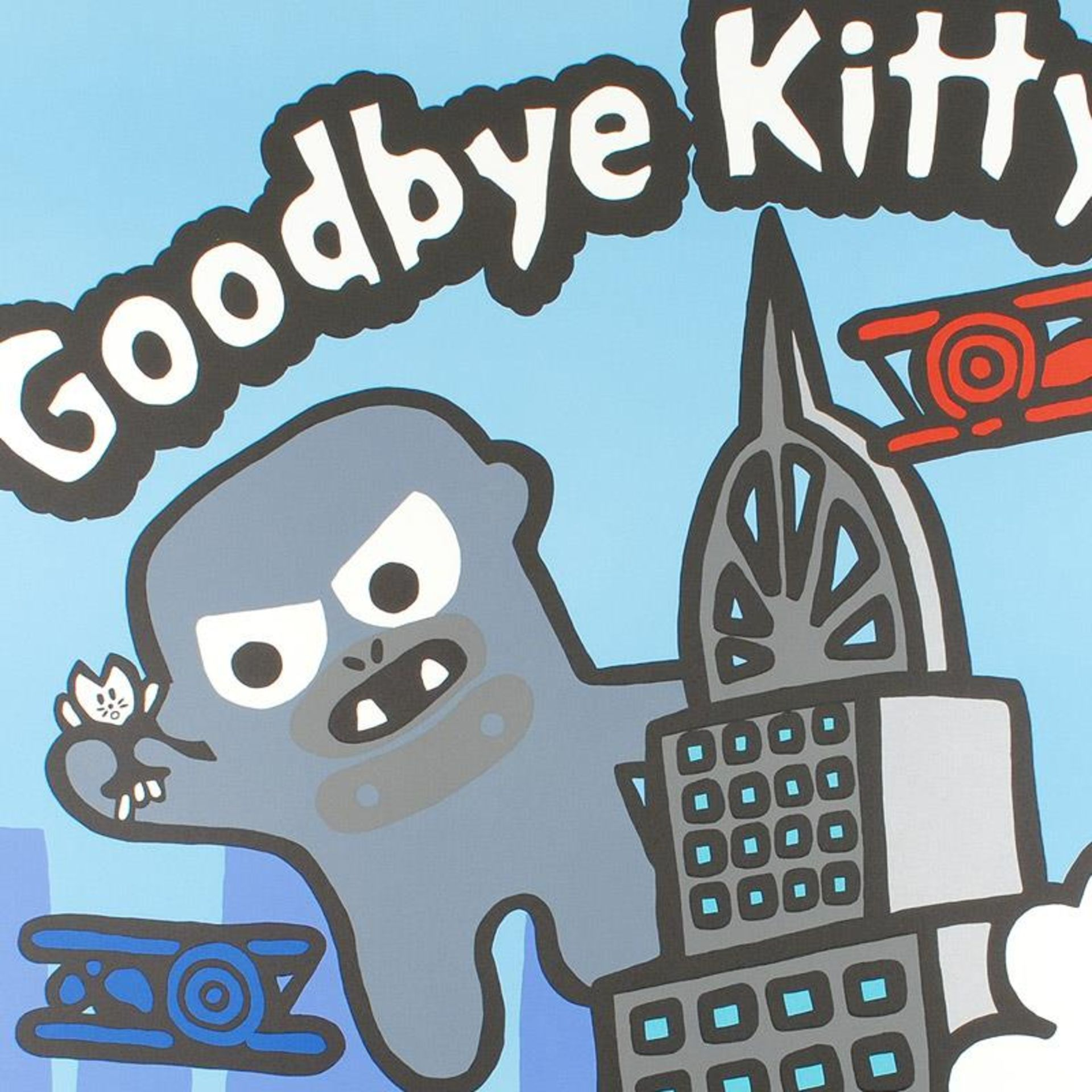 """Goodbye Kitty"" Limited Edition Lithograph (32.5"" x 42"") by Todd Goldman, Number - Image 2 of 2"