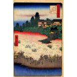 Hiroshige - Flower Pavillio