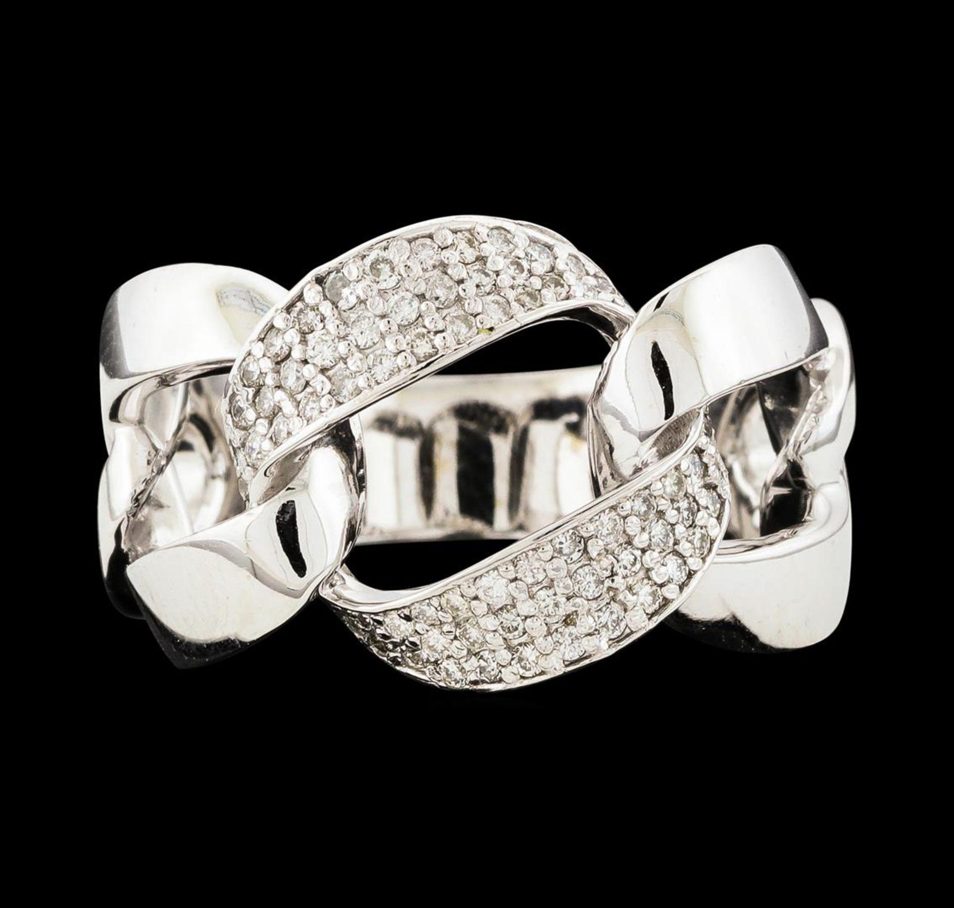 0.33 ctw Diamond Ring - 14KT White Gold - Image 2 of 4